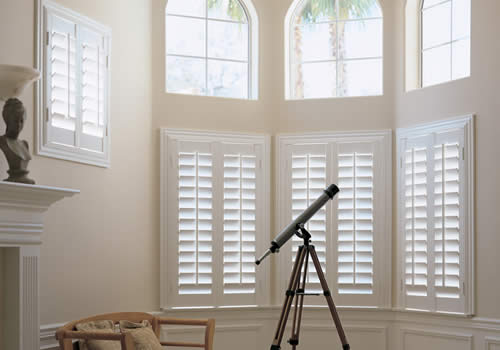 Bay shutters from Aberdeen Blinds