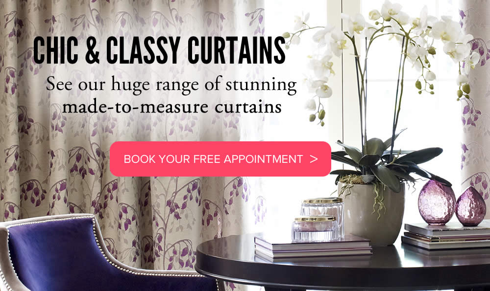 Image of curtains from Aberdeen Blinds