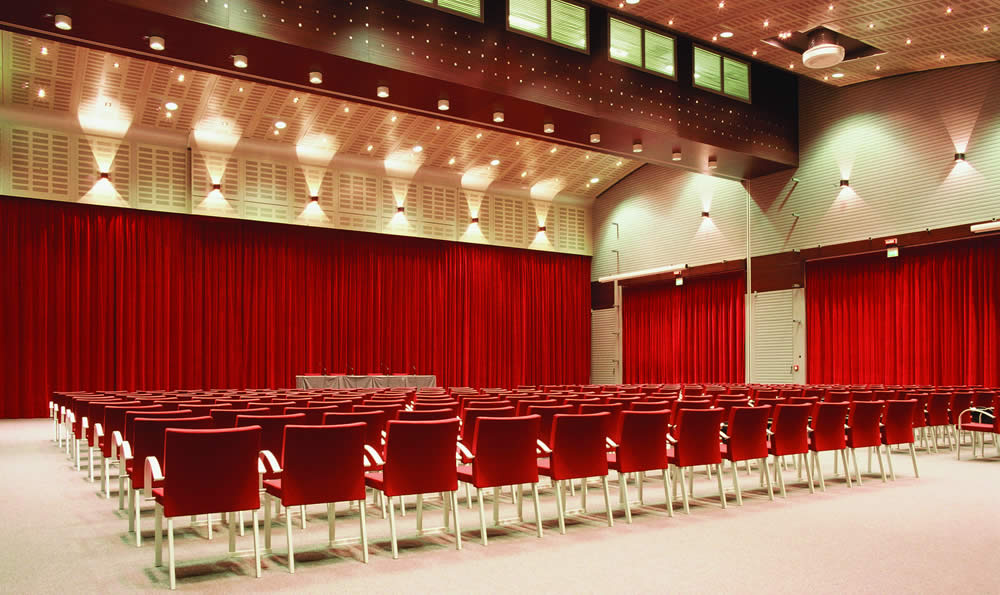 Commercial stage curtains in Aberdeen for theatres